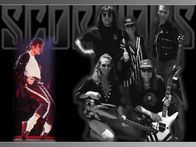 Minuto HM: discografia Scorpions relembra encontro com Michael Jackson Mj_and10
