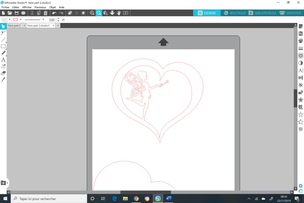 Cœur et fée pour faire part de naissance  Coeur_10