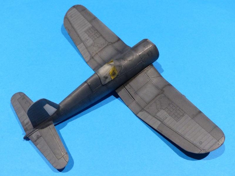 [Tamiya] Vought F4U Corsair / [Dragon] Type 95 Light Tank - Page 2 Franci82