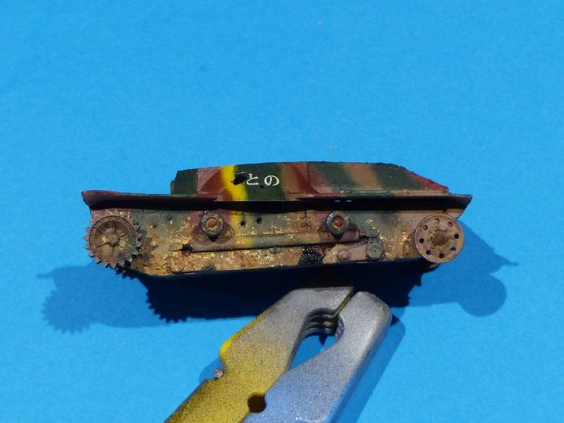 [Tamiya] Vought F4U Corsair / [Dragon] Type 95 Light Tank - Page 2 Franci87