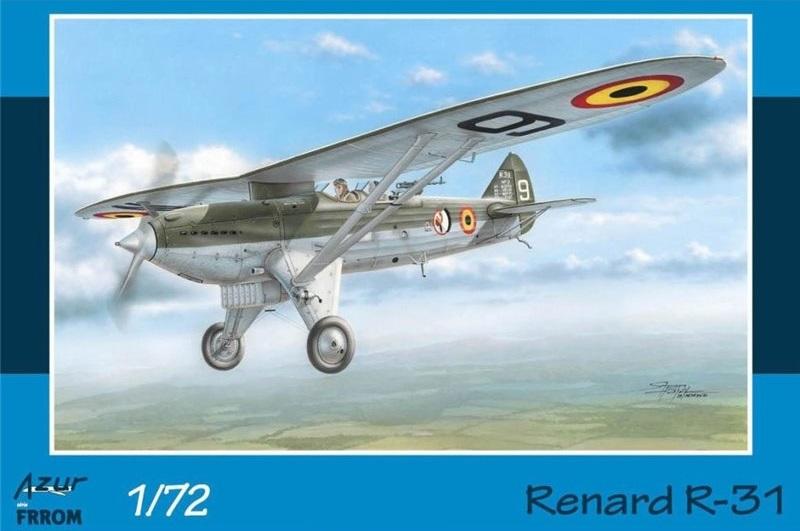 Renard R.31 (Azur-Frrom 1/72ème) [80 ans montage 04] Renard11