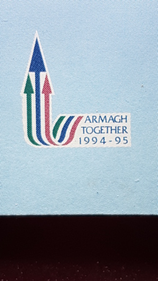 Anyone know this logo from COI 94  - SOLVED Armagh Together 94-95 20190410