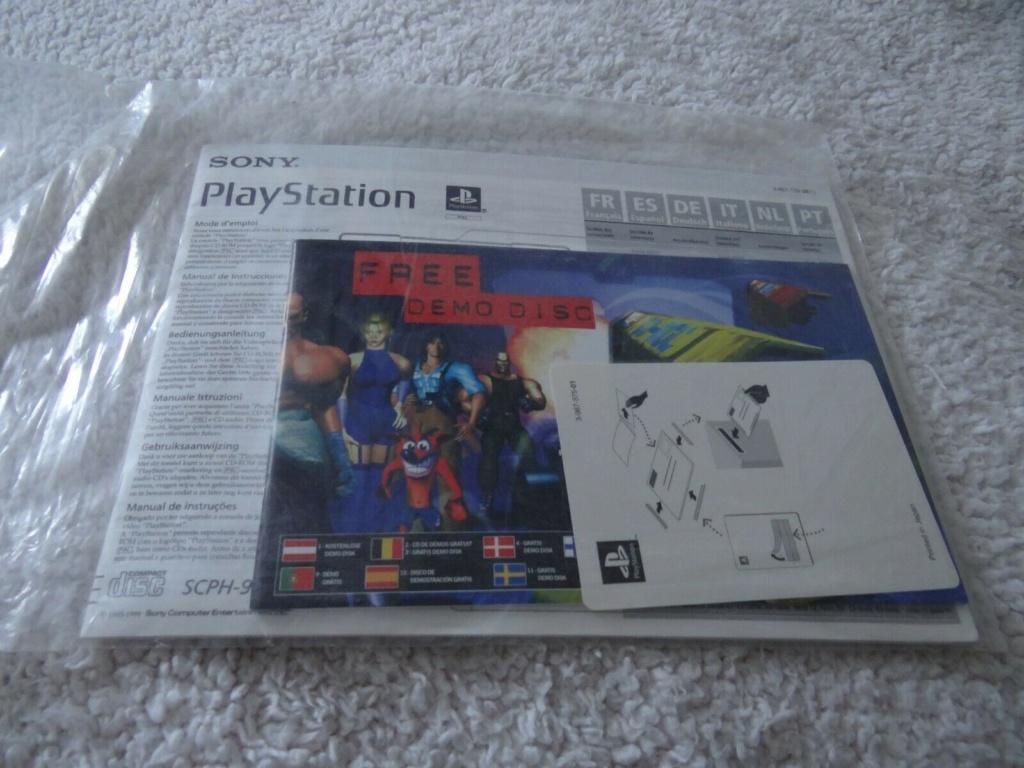 Manual Playstation  ( NEW , sealed ) 10 eur fdpin 10010