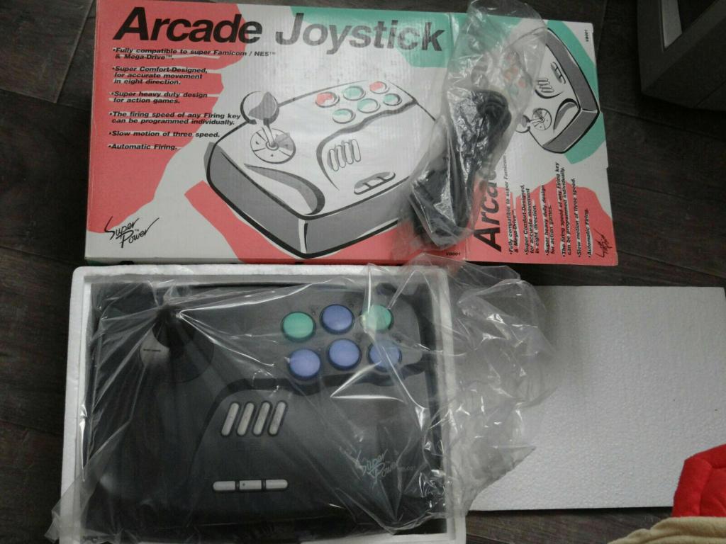 Pad Arcade - Nintendo SNES , SuperNintendo ( NEW ) 35 eur fdpin 4010