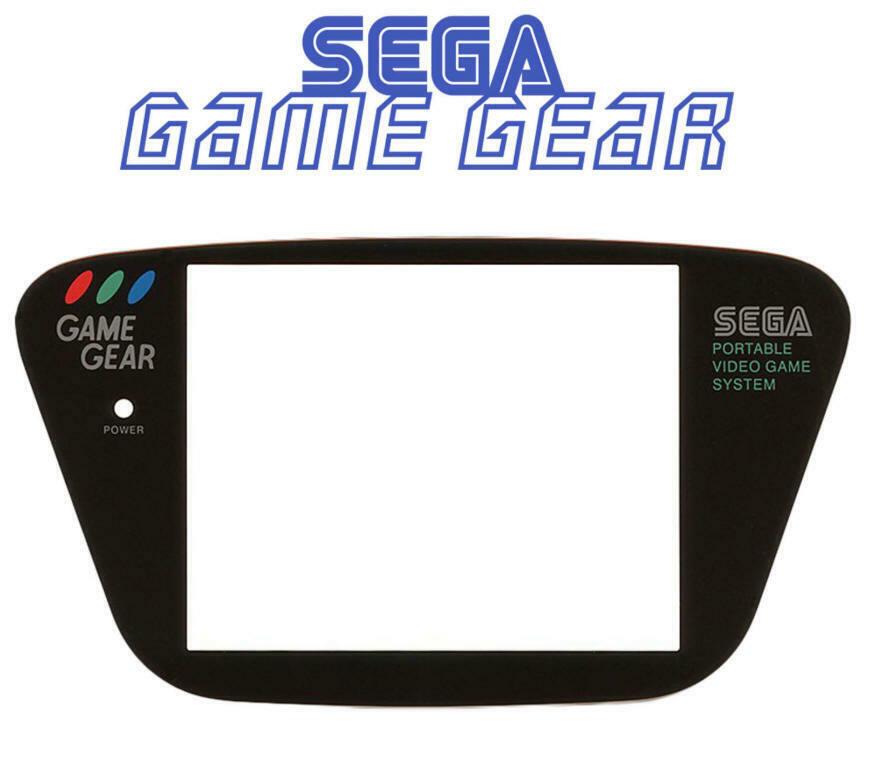 Ecran Sega Game Gear Screen Noir Black [Vitre de remplacement GG] 5 eur fdpin 9910