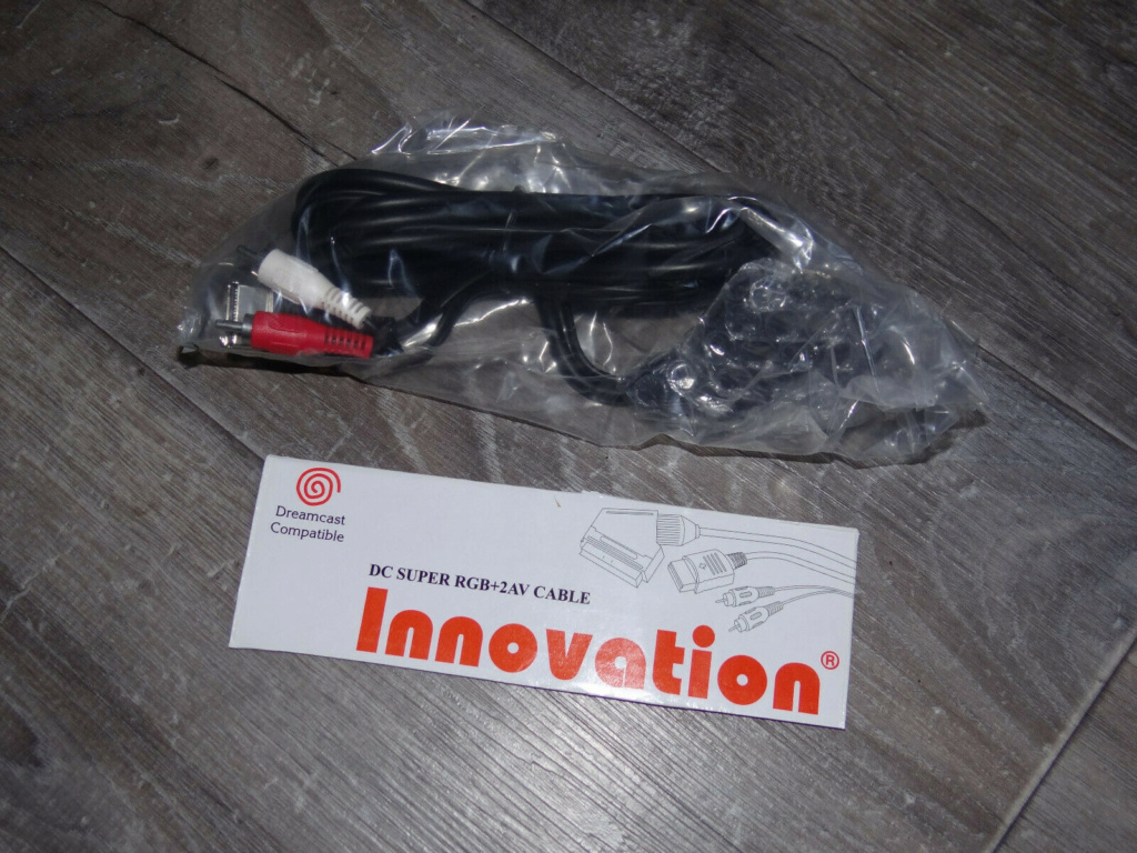 [VDS] Câble péritel RGB SEGA Dreamcast S-l16014