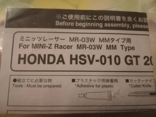 [VENDS] Carrosserie HONDA HSV10-GT (VENDUE)  Img_2034