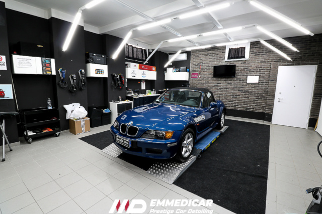 BMW Z3 ROADSTER eliminazione calcare Bmw_z326