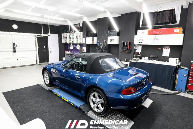 calcare - BMW Z3 ROADSTER eliminazione calcare Bmw_z327