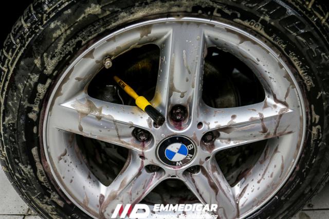 BMW Z3 ROADSTER eliminazione calcare Bmw_z331