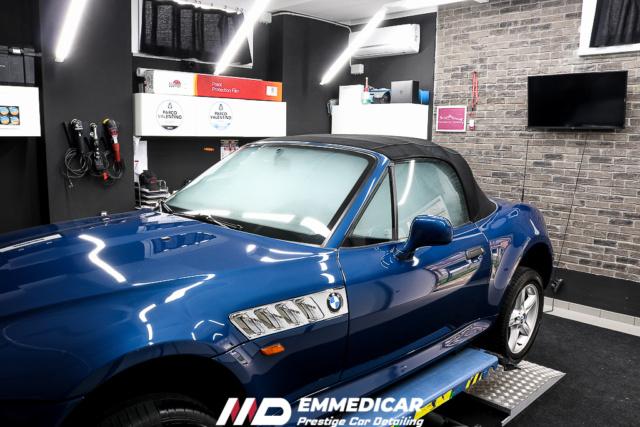 calcare - BMW Z3 ROADSTER eliminazione calcare Bmw_z342