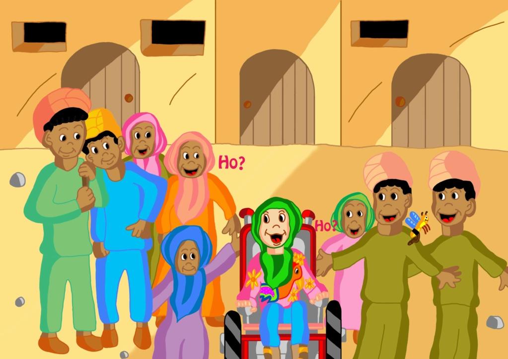Histoires sur le handicap et les maladies cherche éditeurs Enfant10