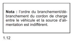 Recharge batteries: Ordre des branchements Not112