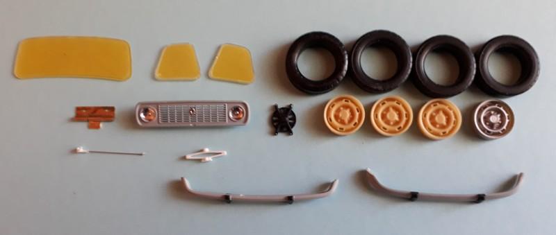 """[1/24] Renault 4L """"TL"""" ref: 80759 19-6-210"""