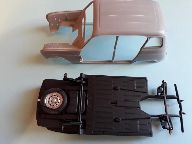 """[1/24] Renault 4L """"TL"""" ref: 80759 19-6-211"""