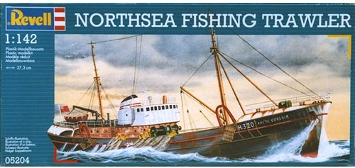 [REVELL] Northsea Fishing Trawler 1:142 Façon SIRIUS Tintin - Hergé Artic-11