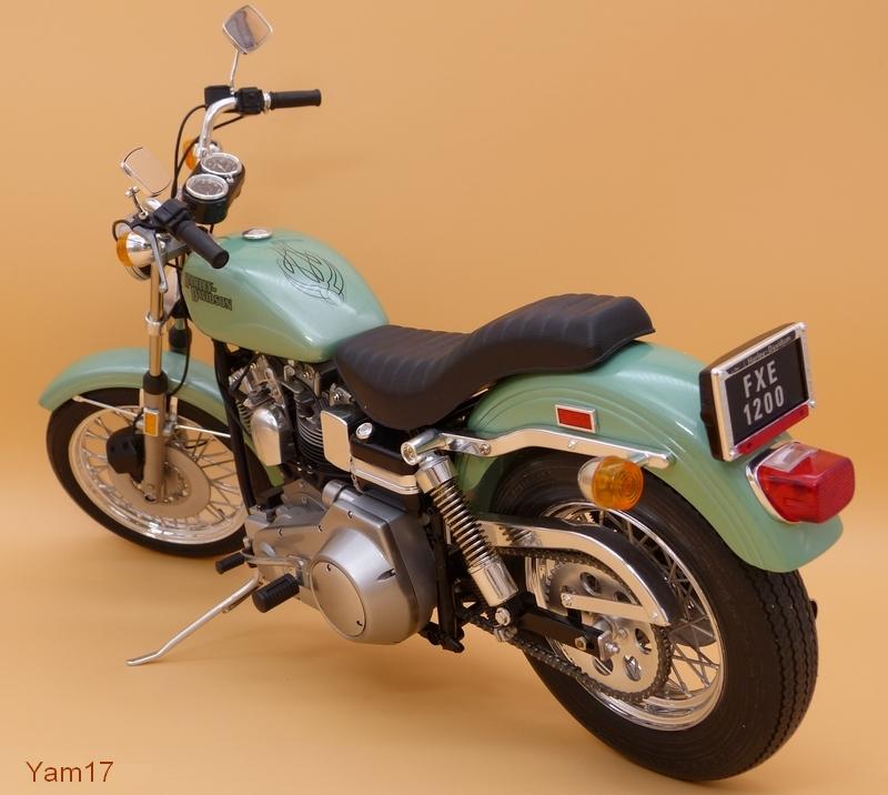 Harley-Davidson FXE Super Glide [Tamiya, 1/6] Hd_311