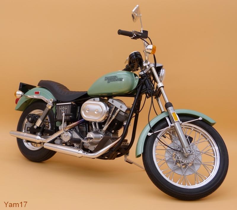 Harley-Davidson FXE Super Glide [Tamiya, 1/6] Hd_512