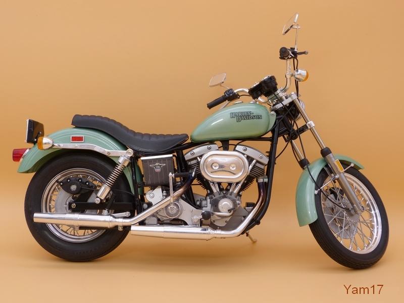 Harley-Davidson FXE Super Glide [Tamiya, 1/6] Hd_711
