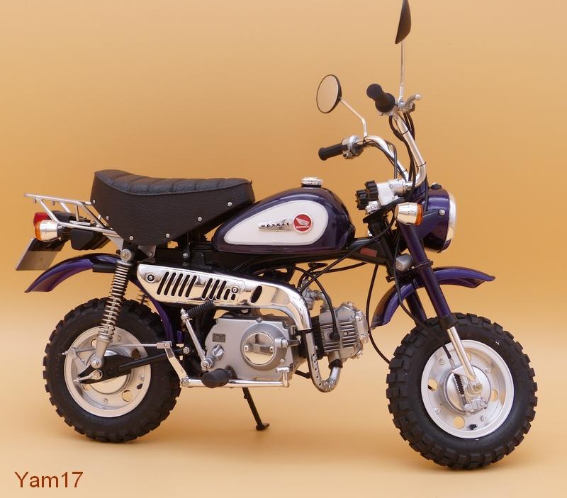 Honda Monkey 50 [Tamiya, 1/6 ème] Monkey17