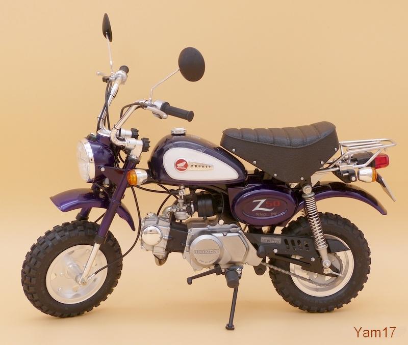 Honda Monkey 50 [Tamiya, 1/6 ème] Monkey20