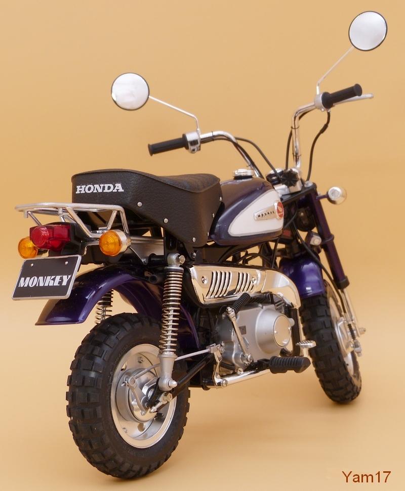 Honda Monkey 50 [Tamiya, 1/6 ème] Monkey21