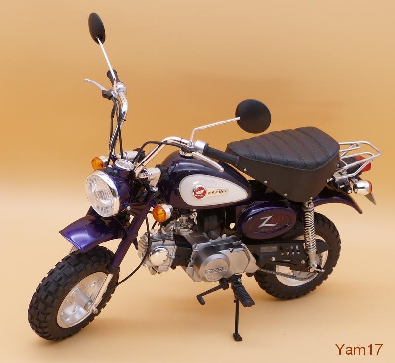 Honda Monkey 50 [Tamiya, 1/6 ème] Monkey22