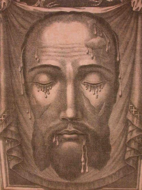 L'apparition de la Sainte Face sur le Voile de Sainte Véronique, le 6 janvier 1849. Sainte10