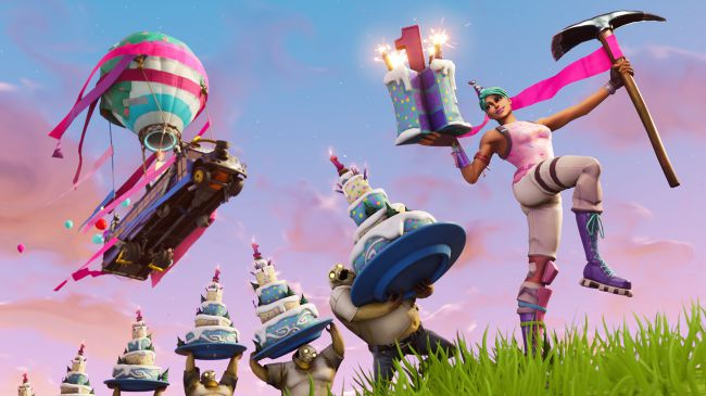 Fortnite celebrates its first anniversary with a limited-time Birthday event Fortni10