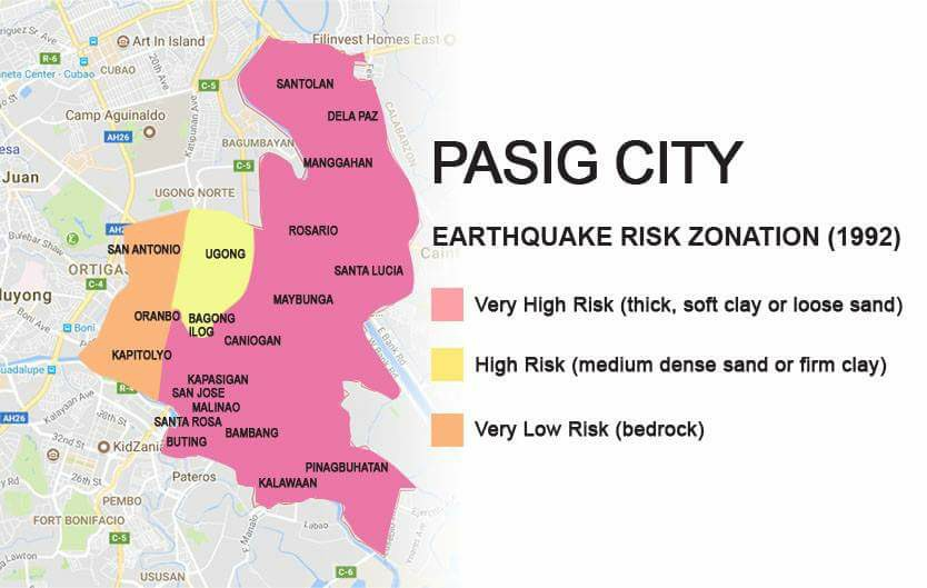 Earthquake Risk Zonation ( 1992 ) High_r10