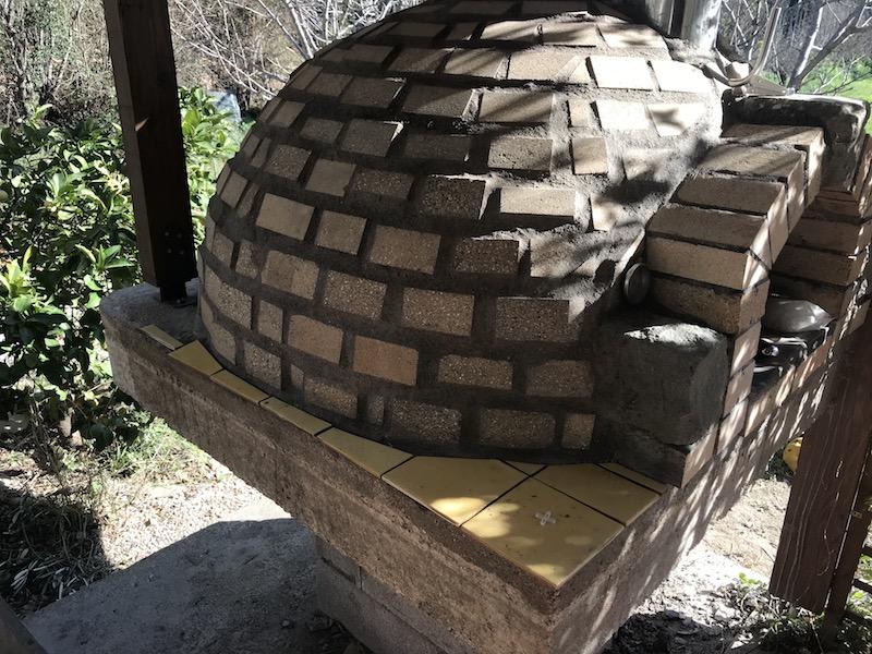 Construction en photos de mon four à bois Img_1113