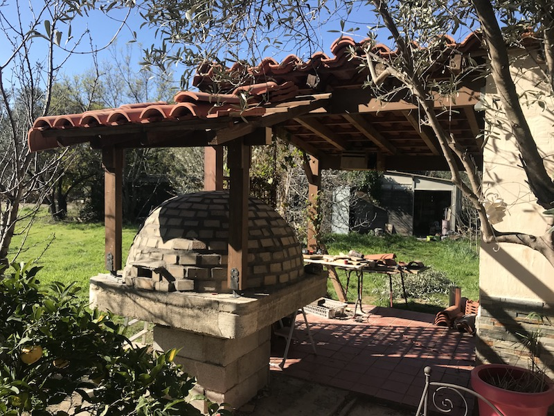 Construction en photos de mon four à bois Img_1114