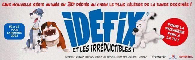 Idéfix et les irréductibles: Une série de 52 épisode avec Idefix en 2020 13054410