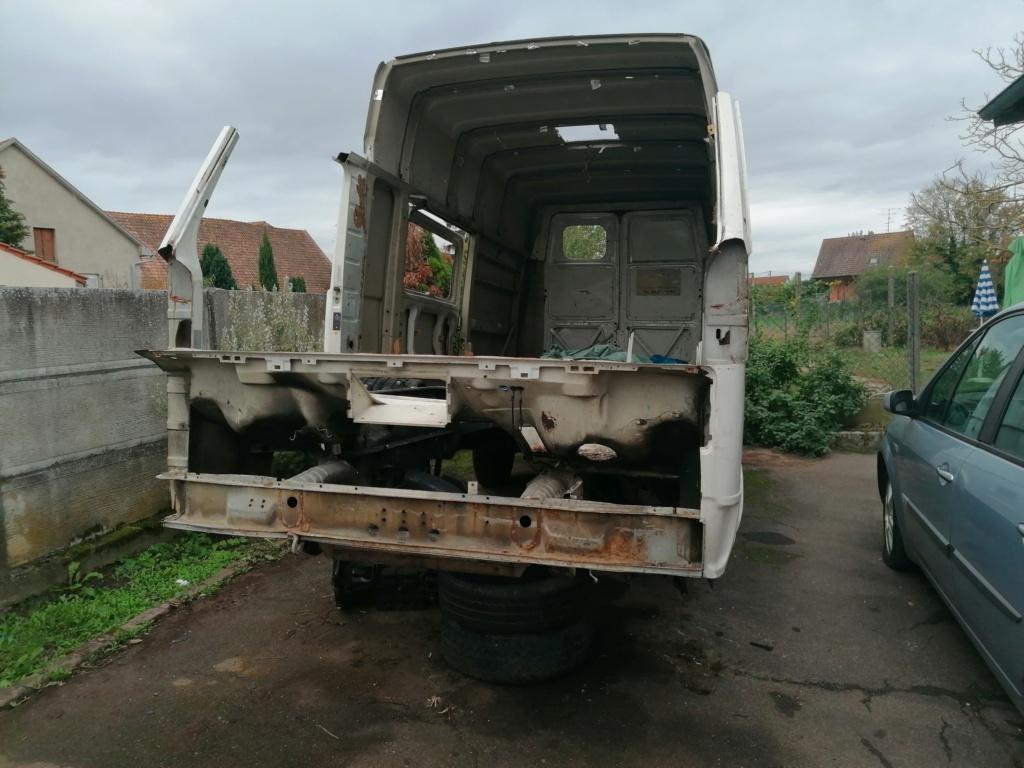 Restauration d'un vw LT camping-car fabrication C.Voisin  114