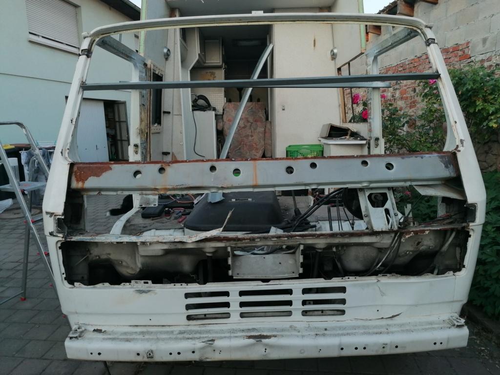 Restauration d'un vw LT camping-car fabrication C.Voisin  12511