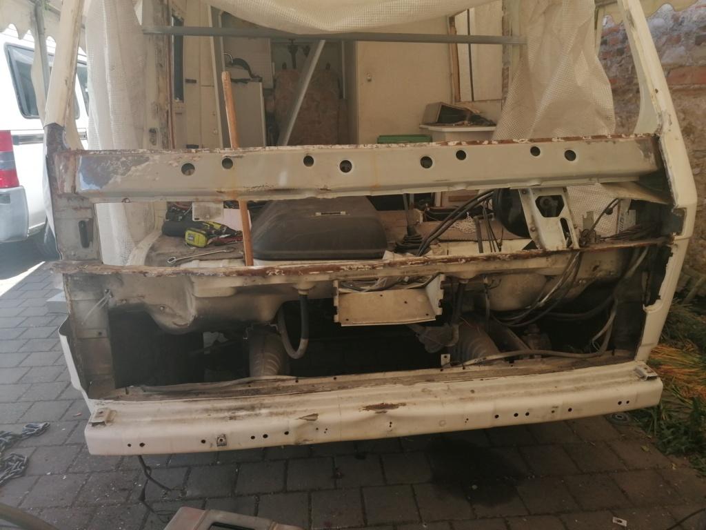 Restauration d'un vw LT camping-car fabrication C.Voisin  127_011