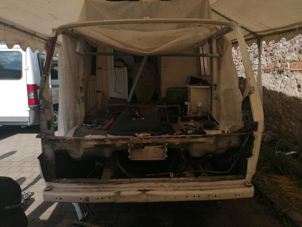 Restauration d'un vw LT camping-car fabrication C.Voisin  129_210