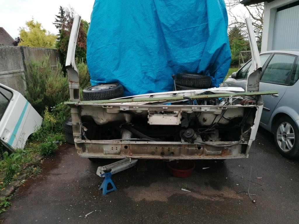Restauration d'un vw LT camping-car fabrication C.Voisin  130510