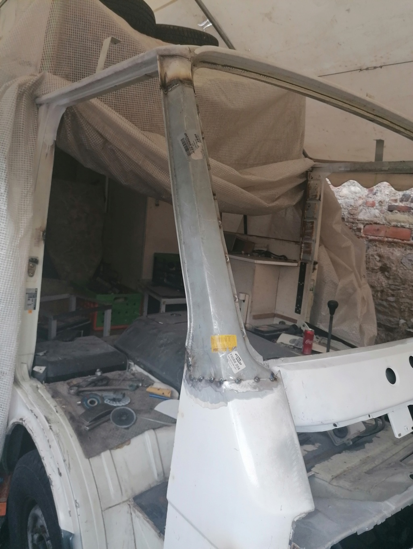 Restauration d'un vw LT camping-car fabrication C.Voisin  13210