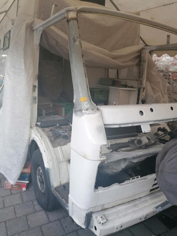 Restauration d'un vw LT camping-car fabrication C.Voisin  13310