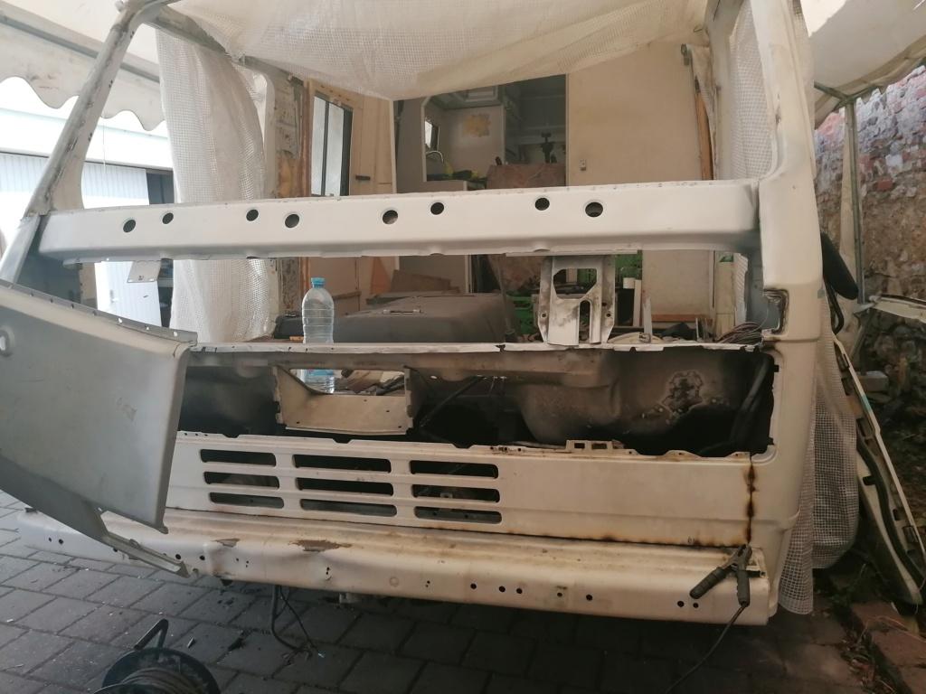 Restauration d'un vw LT camping-car fabrication C.Voisin  13610