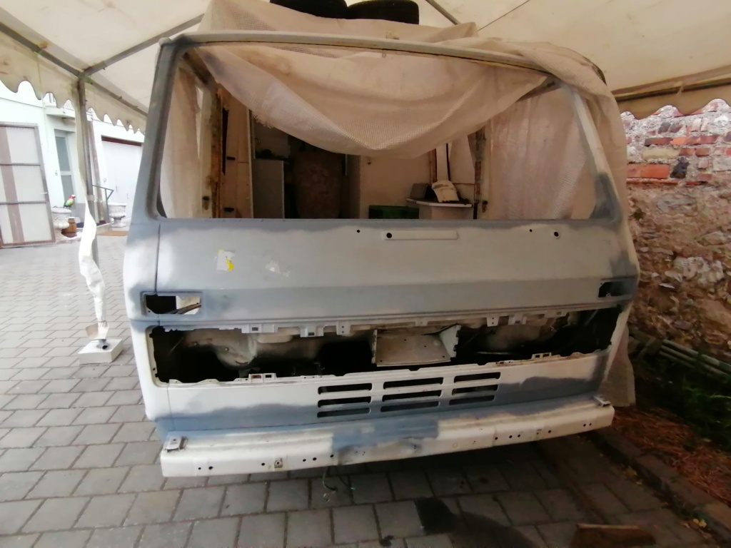 Restauration d'un vw LT camping-car fabrication C.Voisin  13710
