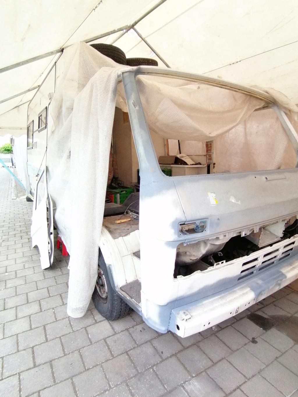 Restauration d'un vw LT camping-car fabrication C.Voisin  13810