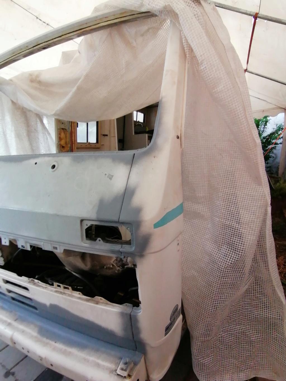Restauration d'un vw LT camping-car fabrication C.Voisin  13910