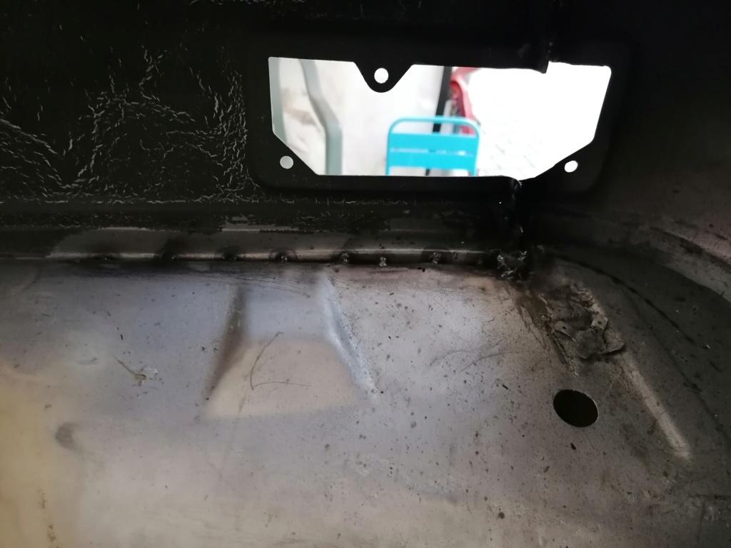 Restauration d'un vw LT camping-car fabrication C.Voisin  14210