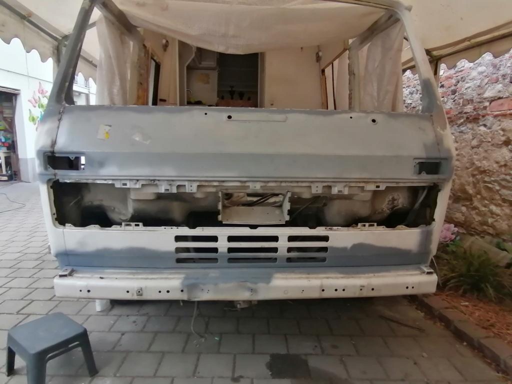 Restauration d'un vw LT camping-car fabrication C.Voisin  14810