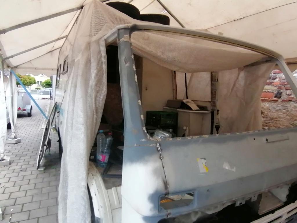 Restauration d'un vw LT camping-car fabrication C.Voisin  15010