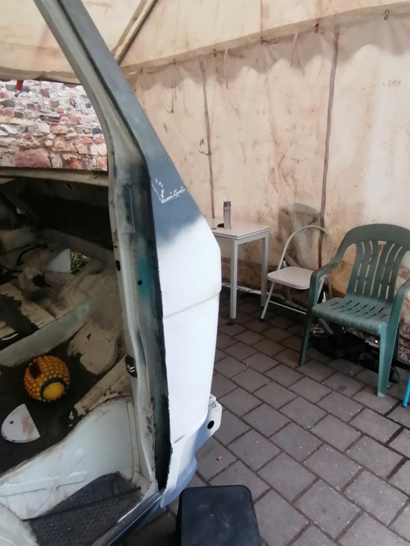 Restauration d'un vw LT camping-car fabrication C.Voisin  15110