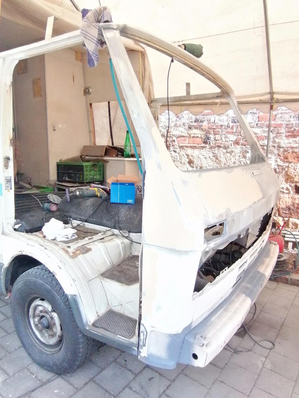 Restauration d'un vw LT camping-car fabrication C.Voisin  15510