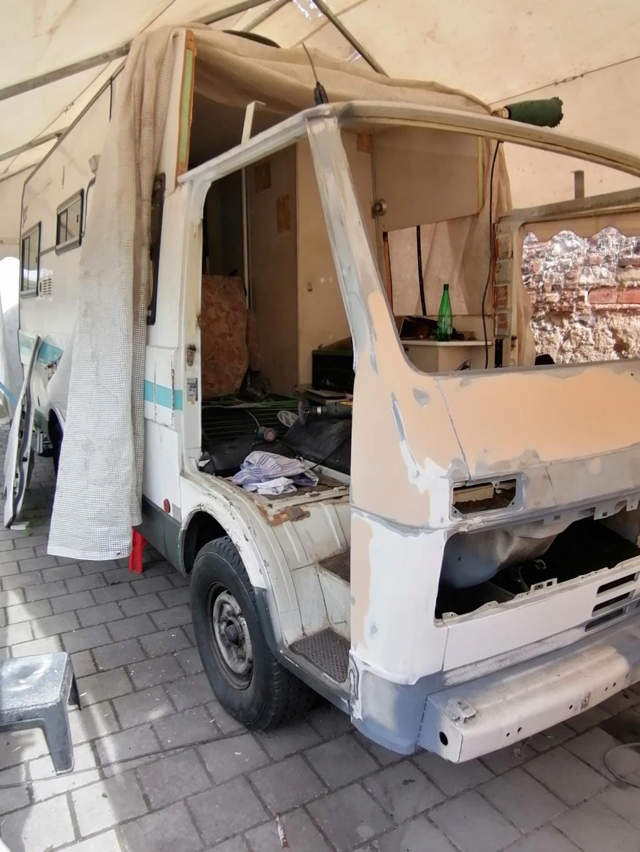 Restauration d'un vw LT camping-car fabrication C.Voisin  15710